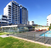 Infinity Apartment Block in Big Bay Holiday Rentals